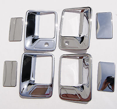99-11 Ford F250 Excursion Chrome Door Handle Covers SD