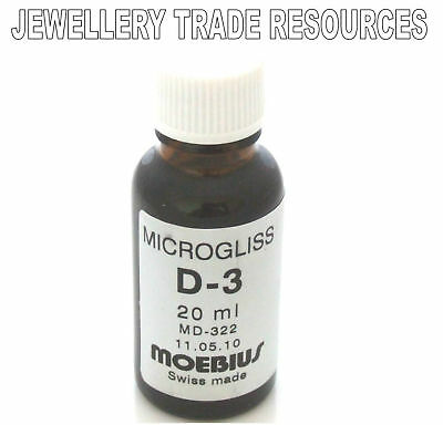 Moebius Oils Watch And Clock Lubricant Microgliss D3