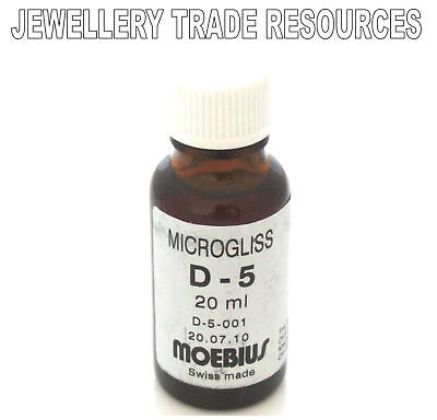 Moebius Oils Watch And Clock Lubricant Microgliss D5