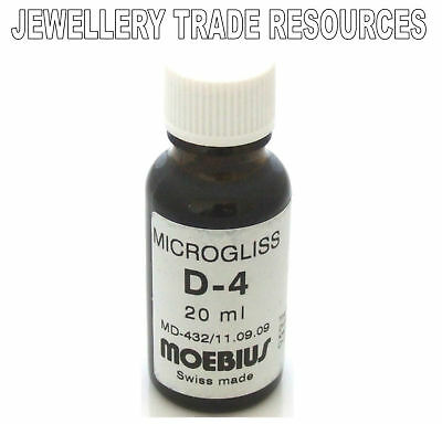 Moebius Oils Watch And Clock Lubricant Microgliss D4
