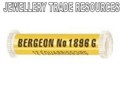 12 BERGEON 1896G CLOCK & WATCH BROACHES 0.05mm - 0.30mm