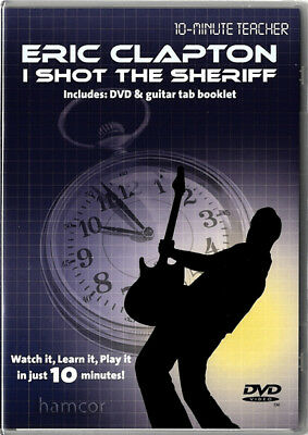 Eric Clapton I Shot The Sheriff Guitar DVD Learn Play