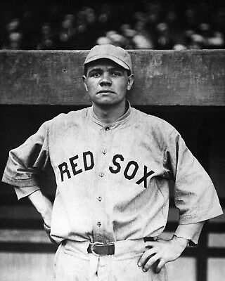 Babe Ruth pre Yankees  Red Sox 8 x 10 Photo Picture #g1
