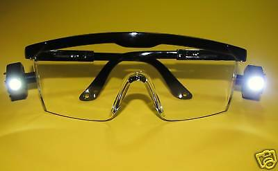 Dental Glasses Protection with Light Led Safety Pack /3