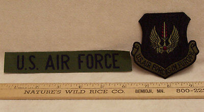 Lot of 2 US AIR FORCE Patches USAF in Europe