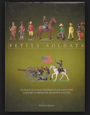 TIN SOLDIERS ill. french BOOK toys petits soldats de plomb FIGURINE antique war