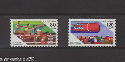 M/nh Germany 1986 Sg#2120, 2121 Sport Promotion