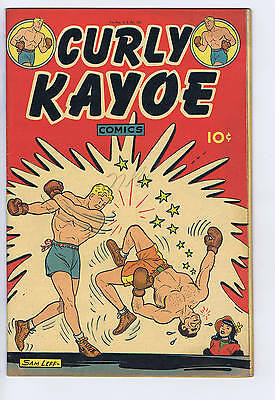 Curly Kayoe Comics #1 United Features Pub 1946