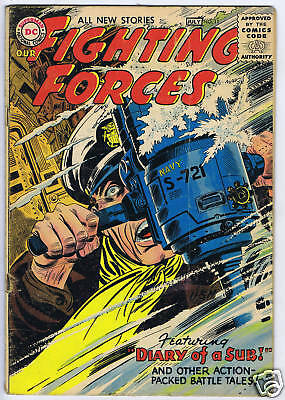 Our Fighting Forces #11 DC Pub 1956 GOOD/VERY GOOD