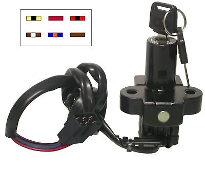 Ignition Switch For Honda 6Wire CBR600 1987-90