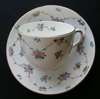 English Crown Staffordshire Cup And Saucer # F5419
