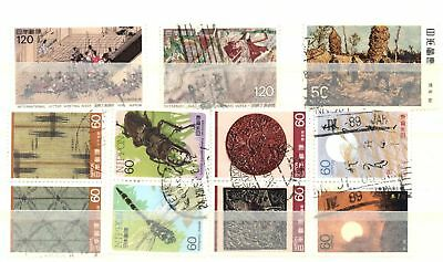 Japan  Lot Of Various Used Stamps Vf