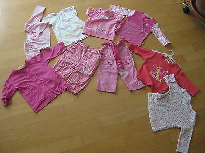 9-teiliges Baby-Paket GIRL Gr. 68 NEUWARE Top