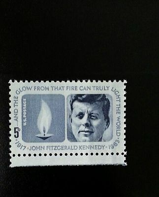 1964 5c John Fitzgerald Kennedy Light the World Memorial Scott 1246 Mint F/VF NH