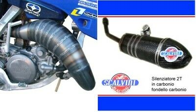 Scarico Scalvini Racing Yamaha Yz 250 05 09 Full Carbon