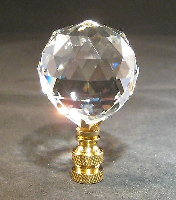 Lamp Finial-Leaded Crystal Lamp Finial-Free Shipping