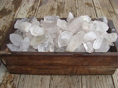 500 Carat Lots of Unsearched Quartz Crystal Points