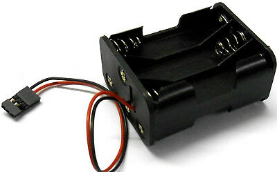 C1205-2 RC Battery Holder Case Box Pack 6 AAA JR 3 Pin