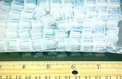 NEW! 200 PLASTIC HANG TABS ☀STRONG 40 oz ADHESIVE!☀ PEGBOARD/SLATWALL HANGERS
