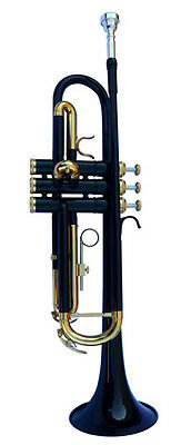 New Black Band Trumpet W/case-Approved+ Warranty.
