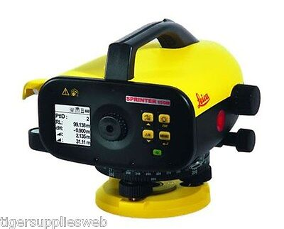 Leica Sprinter 150 Electronic Construction Level Packge