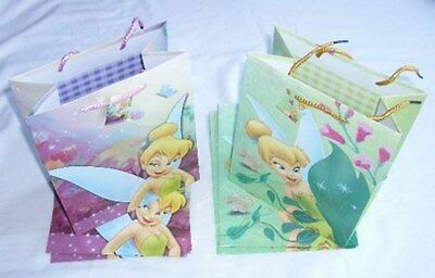 24 Disney Tinkerbell Birthday Party Favor Goody Gift Loot Bag Wholesale Lot :o)