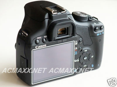 "ACMAXX 3.0"" HARD LCD SCREEN ARMOR PROTECTOR CANON EOS 550D / Rebel T2i / KISS X4"