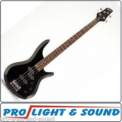 Monterey Bass Guitar With PJ-Style Pickups Black