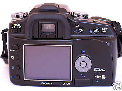 "ACMAXX 2.5"" HARD LCD SCREEN ARMOR PROTECTOR SONY alpha A-100 DSLR-A100 Body Kit"