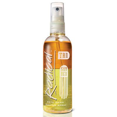 Radical Tan Step 2 Sun Bed Beta Remarkably Dark Tanning Accelerator Spray 165ml