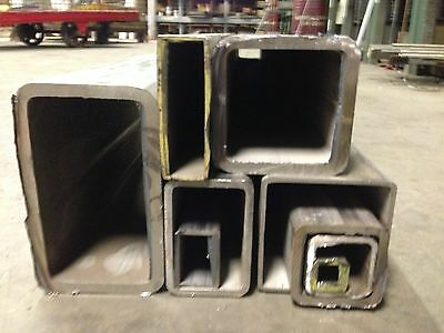 """STAINLESS STEEL SQUARE TUBE 1-1/4""""x1-1/4""""x1/8""""x48"""" 304"""