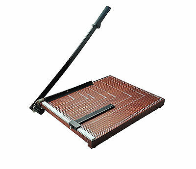 New A4 Paper Cutter Guillotine Wooden Based Trimmer