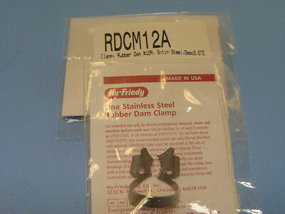 Dental Rubber Dam Clamp No 12A RDCM12A HU FRIEDY Original Special Price