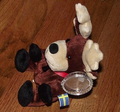 Coca Cola International Collection Bean Bag Plush Baltic the Reindeer Sweden
