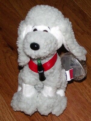 Coca Cola International Collection Bean Bag Plush Strudel the Poodle France