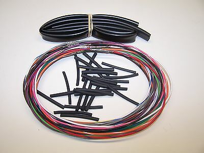"""96-06 Harley Street Glide 6/"""" wiring extension FLHT switch wires with radio"""