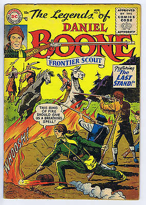 "Legends of Daniel Boone #5 DC Pub 1956 ""SCARCE ISSUE""!!"
