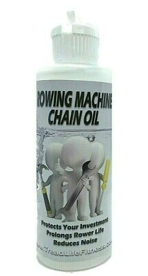Concept 2 Rower CHAIN OIL, Lube, REQUIRED MAINTENANCE , rowing machine