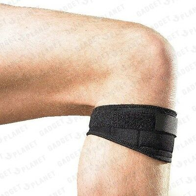 Magnetic Knee Support Brace Strap Belt Patella Tendon Sports Injury Pain Relief