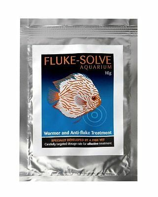 Fluke Solve aquarium discus aquatic fish fluke parasite and skin flukes.