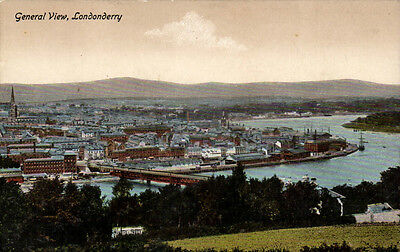 Londonderry. General View by PTDC / Valentine's.