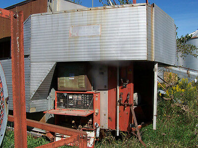 Behlen Dryer Model 700 Energy Saver Farm Corn Dryer Pre Heaters - Grain Dryer