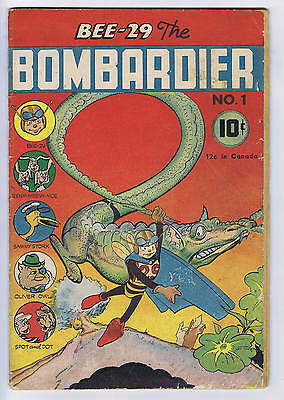 Bee-29 the Bombardier #1 Neal Pub 1945
