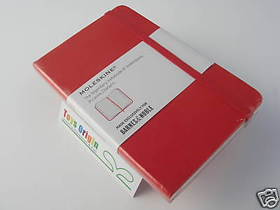 Moleskine Classic Red Pocket Notebook Journal Ruled Barnes & Noble