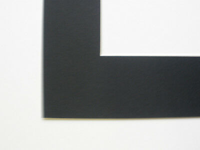 Pack Of 10 Black 9X7 Inch Picture Mounts