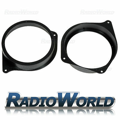 "Seat Cordoba & Ibiza Speaker Adaptor Kit Rings/Spacers 165mm 6.5"" SAK-3105"