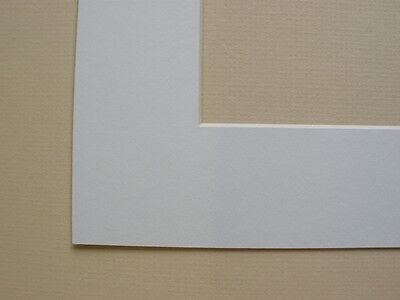 Pack Of 10 White A4 Picture Mount