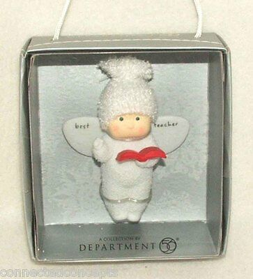 Angel Gifts Best Teacher Christmas Ornament from Dept 56 (Target Exclusive 2010)