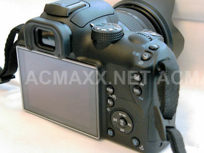 "ACMAXX 3.0"" HARD LCD SCREEN ARMOR PROTECTOR for Samsung NX5 NX-5 DSLR camera"