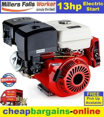 13hp MOTOR STATIONERY ENGINE 4 STROKE HORIZONTAL SHAFT WATER PUMP GENERATOR ETC